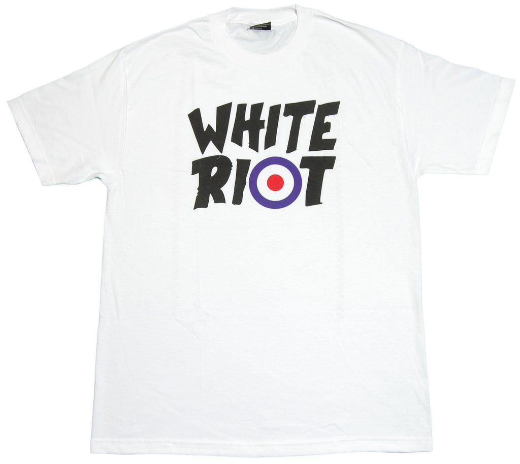 <!--2012032012-->In4mation - 'White Riot' [(White) T-Shirt]