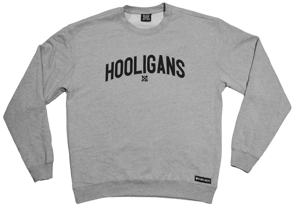<!--2013010807-->In4mation - 'Hooligans' [(Gray) Crewneck Sweatshirt]