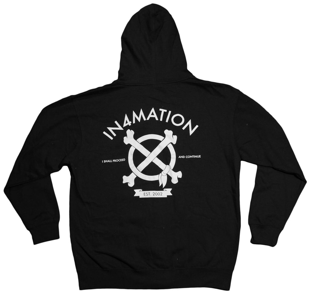 <!--2013010811-->In4mation - 'Hi' [(Black) Hooded Sweatshirt]