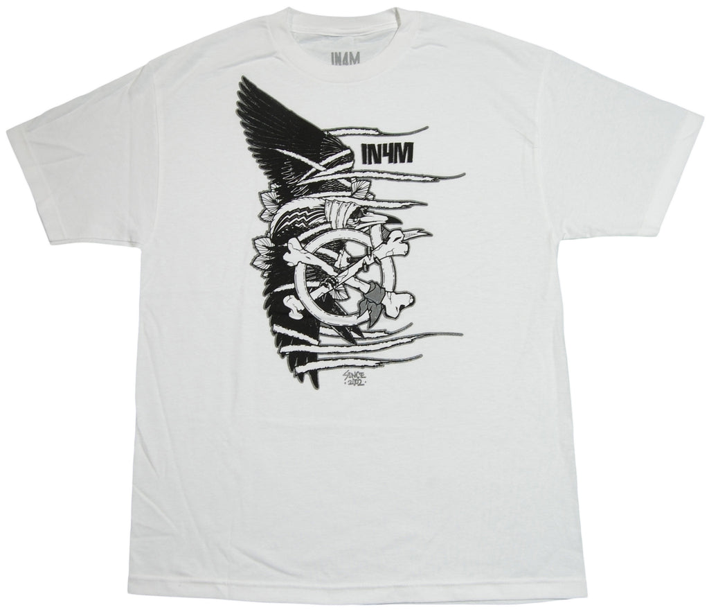 <!--2013060437-->In4mation - 'Crowbar' [(White) T-Shirt]