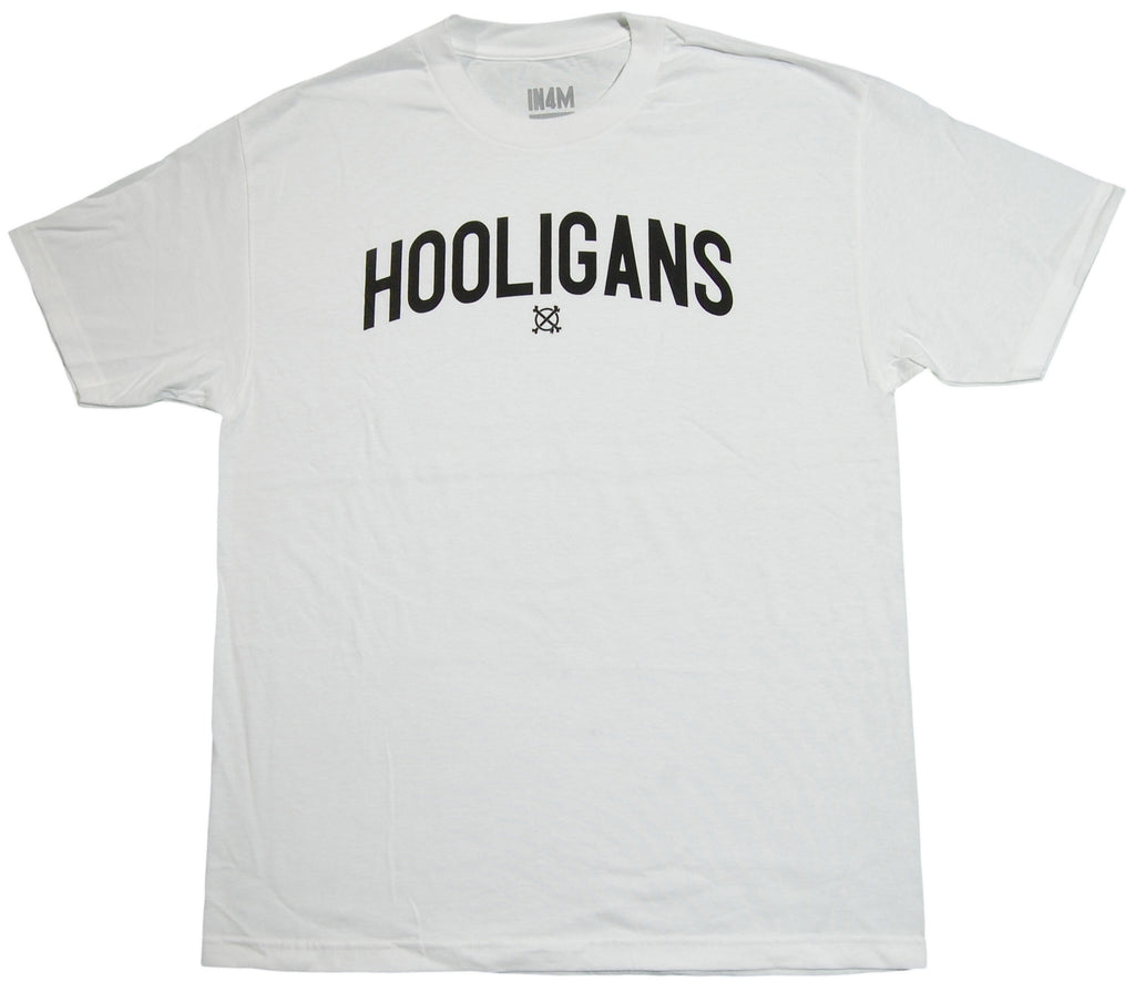 <!--2013060403-->In4mation - 'Hooligans' [(White) T-Shirt]