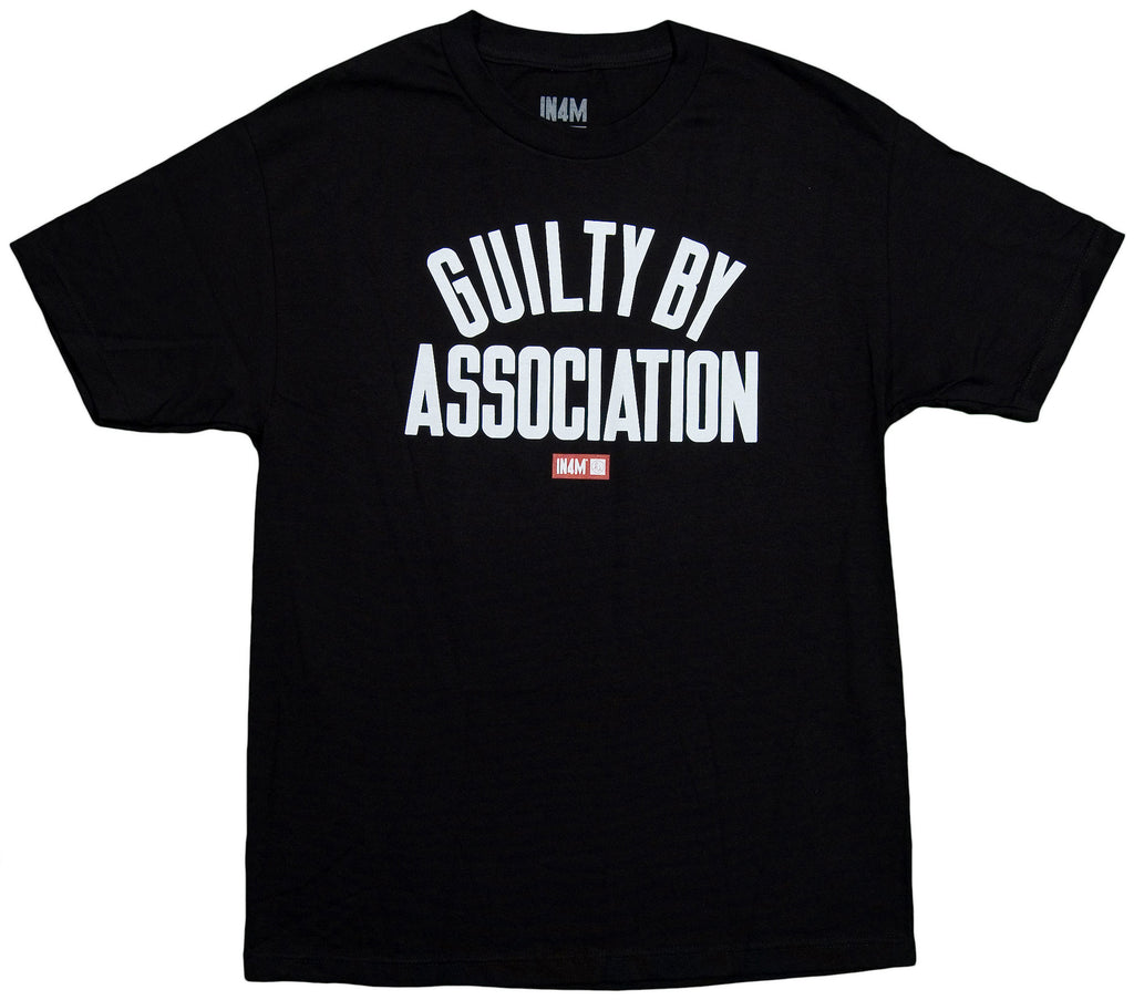 <!--2013102246-->In4mation - 'Guilty By Association' [(Black) T-Shirt]