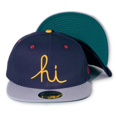 <!--2014021017-->In4mation - 'Hi - Ripstop' [(Dark Blue) Fitted Hat]