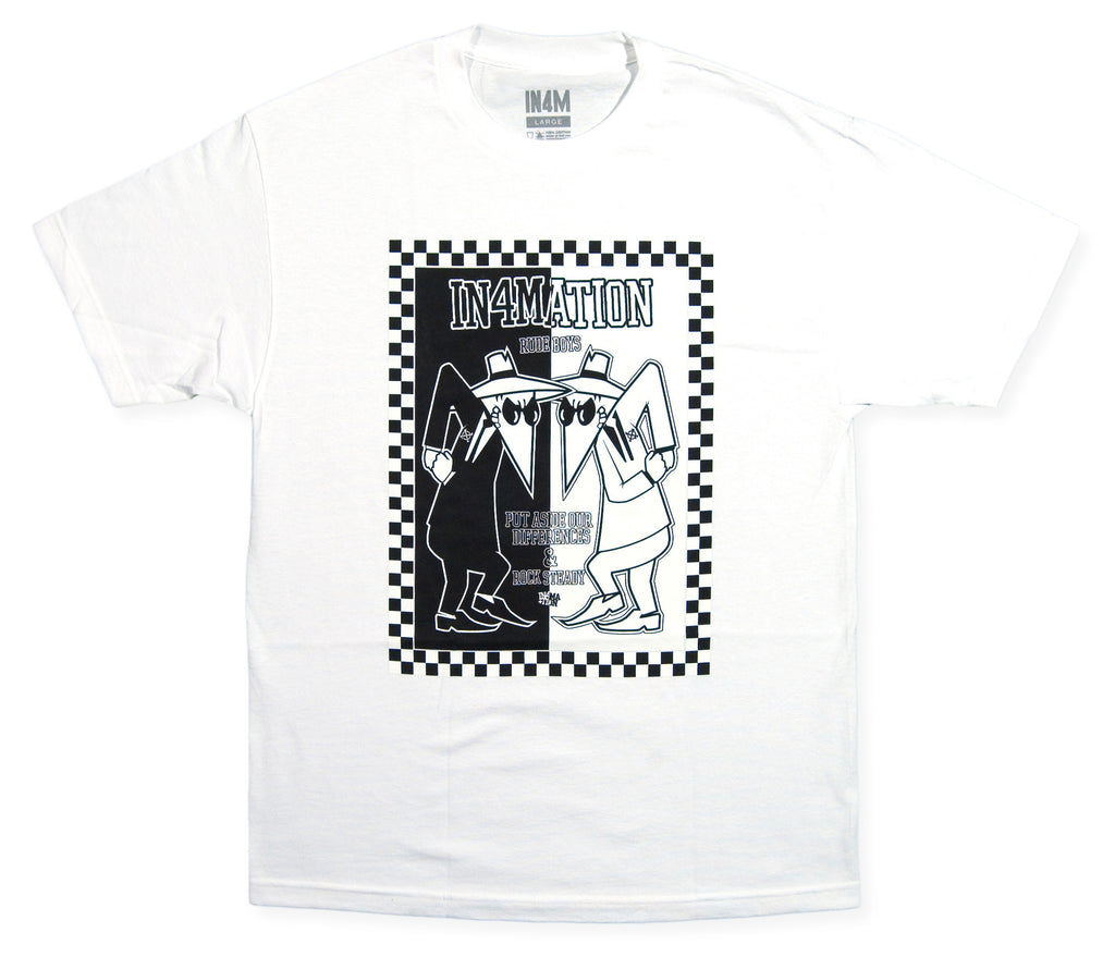 In4mation - 'Spy vs Ska' [(White) T-Shirt]