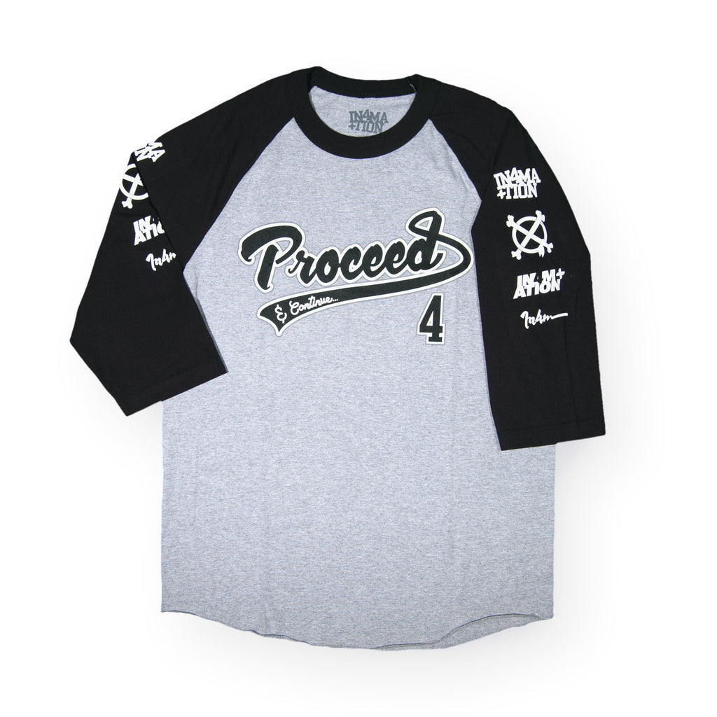 <!--020160614073425-->In4mation - 'Proceed - Bay' [(Gray) T-Shirt]