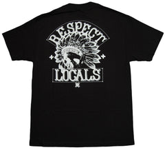 <!--2012120431-->In4mation - 'Respect Locals' [(Black) T-Shirt]