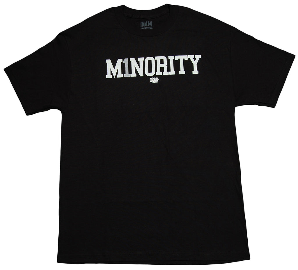 <!--2012120448-->In4mation - 'Minority' [(Black) T-Shirt]