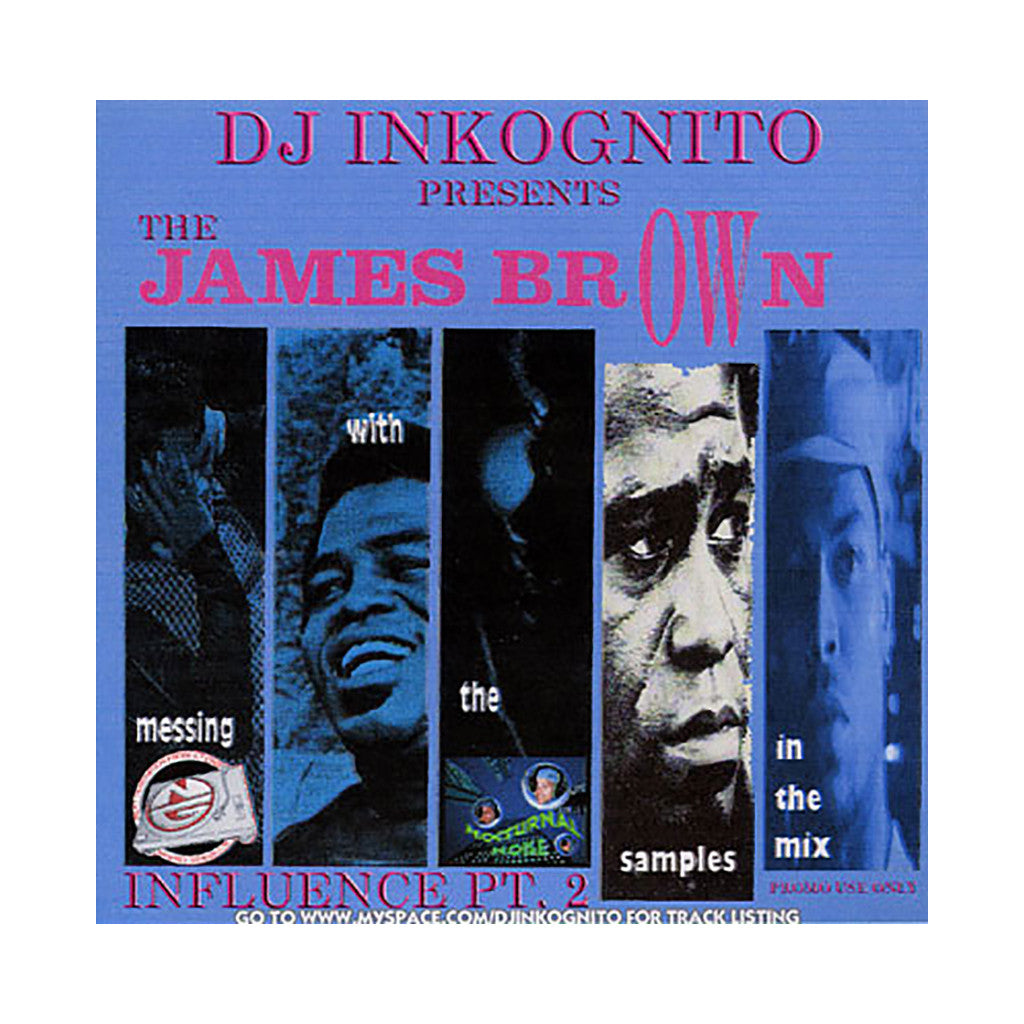 DJ Inkognito - 'James Brown Influence Pt. 2' [CD]