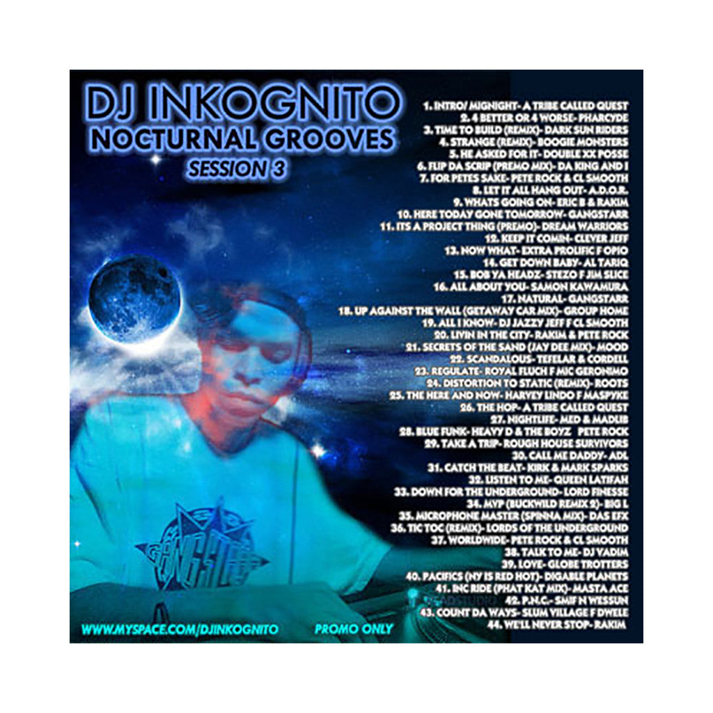 DJ Inkognito - 'Nocturnal Grooves: Session 3' [CD]