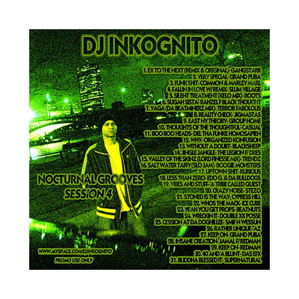 DJ Inkognito - 'Nocturnal Grooves: Session 4' [CD]