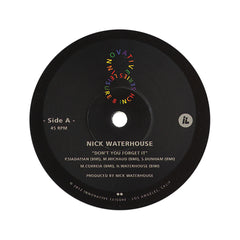 "<!--020120417043975-->Nick Waterhouse b/w Allah-Las - 'Don't You Forget It (INNOV8 8"" VINYL SERIES)' [(Black) 8"" Vinyl Single]"