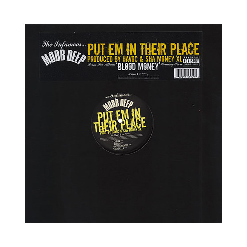 "<!--020060411007101-->Mobb Deep - 'Put Em In Their Place' [(Black) 12"" Vinyl Single]"