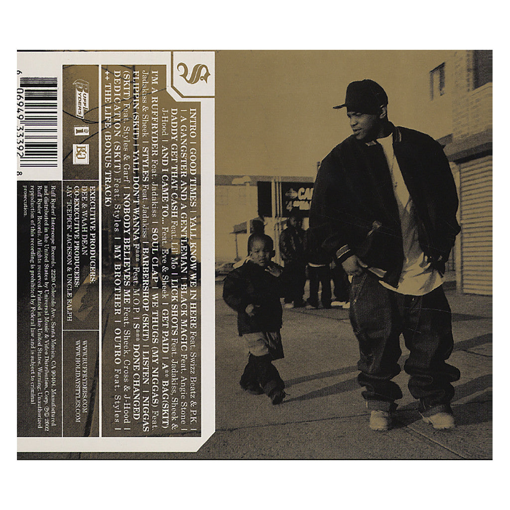 <!--120020625001005-->Styles P - 'A Gangster And A Gentleman' [CD]
