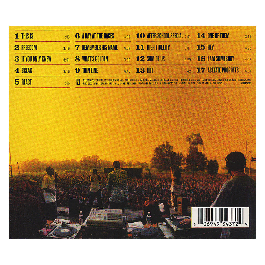 <!--2002100851-->Jurassic 5 - 'Power In Numbers' [CD]