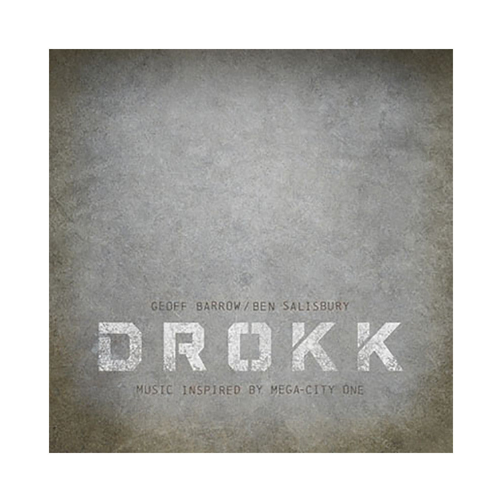 Geoff Barrow & Ben Salisbury - 'DROKK: Music Inspired By Mega-City One' [(Black) Vinyl LP]