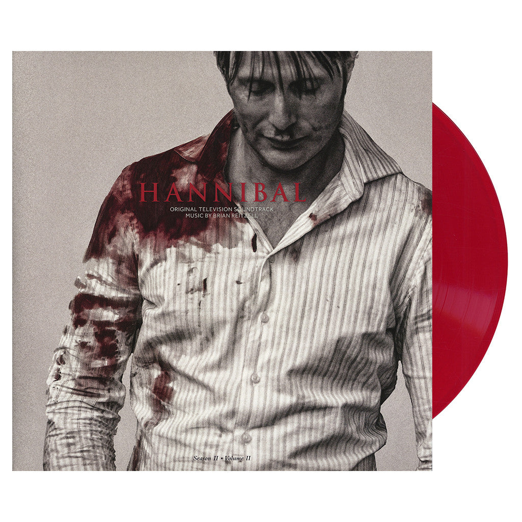 Brian Reitzell - 'Hannibal - Season 2, Vol. 2 (Original Television Soundtrack) (Special Edition)' [(Hemachrome Red) Vinyl [2LP]]