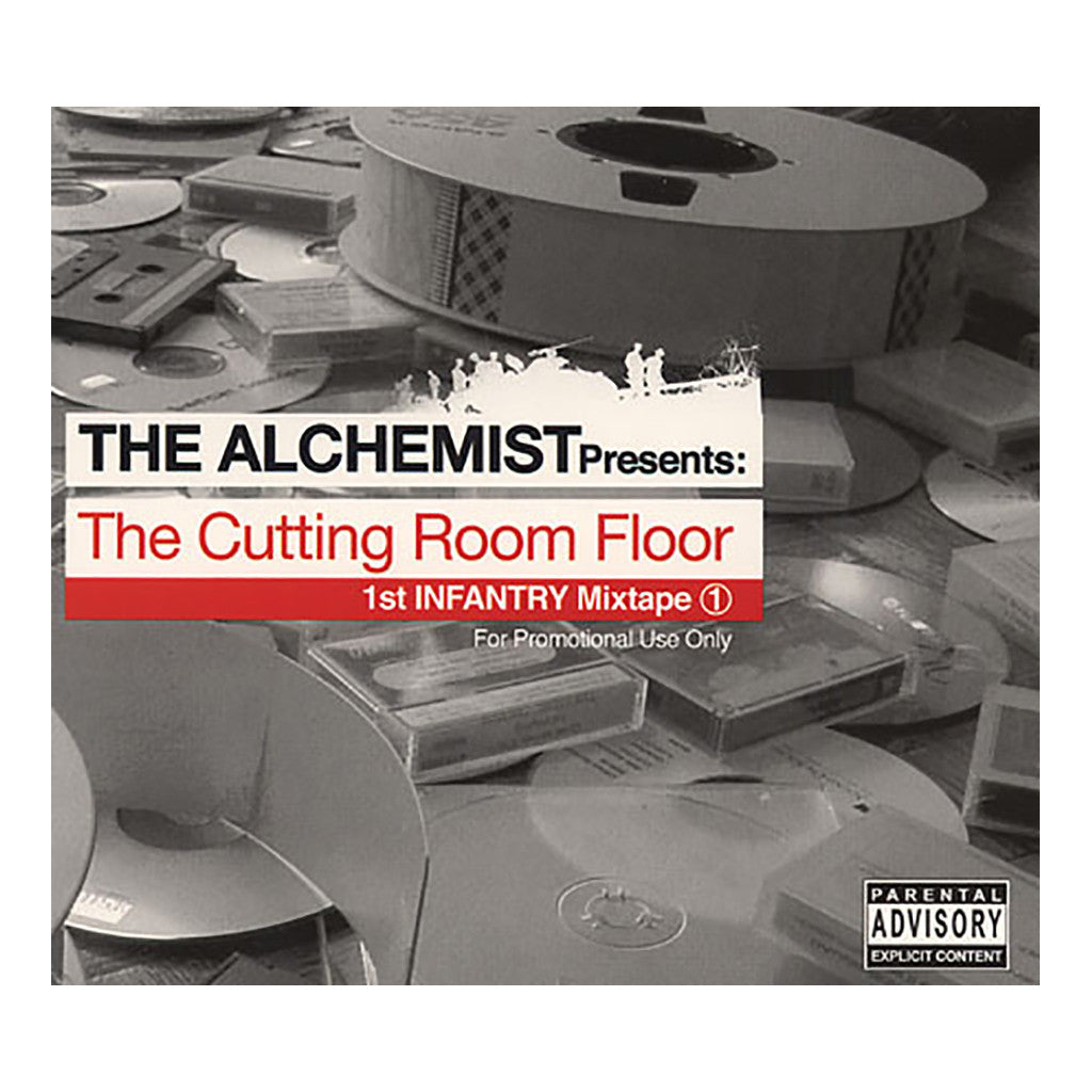 <!--020030708004793-->Alchemist - 'The Cutting Room Floor Vol. 1 (1st Infantry Mixtape)' [CD]