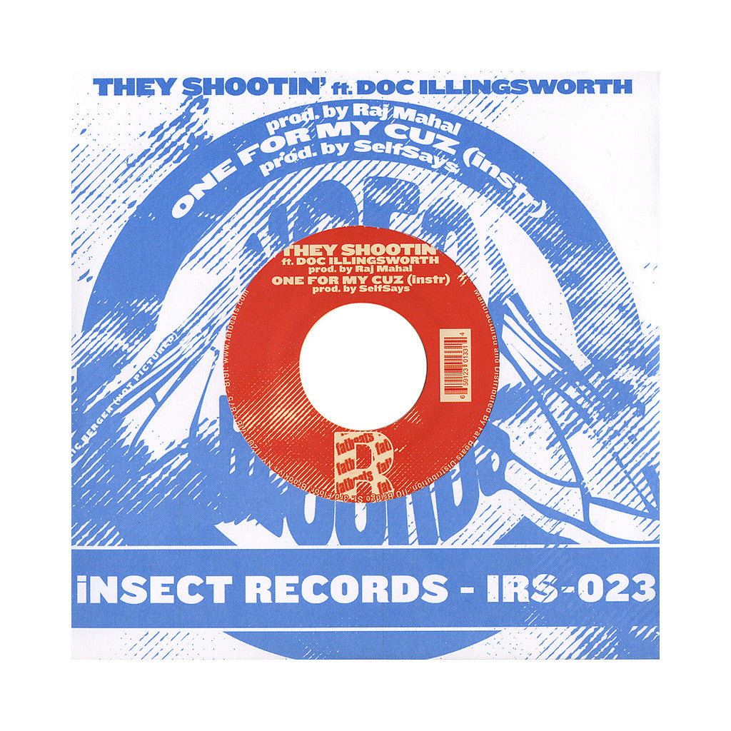 "<!--020121016047269-->SelfSays - 'Not Another Video Game Song/ They Shootin'/ One For My Cuz' [(Yellow) 7"""" Vinyl Single]"