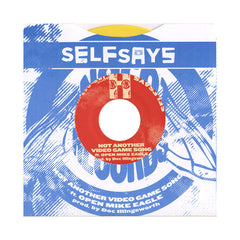 "<!--020121016047269-->SelfSays - 'Not Another Video Game Song/ They Shootin'/ One For My Cuz' [(Yellow) 7"" Vinyl Single]"