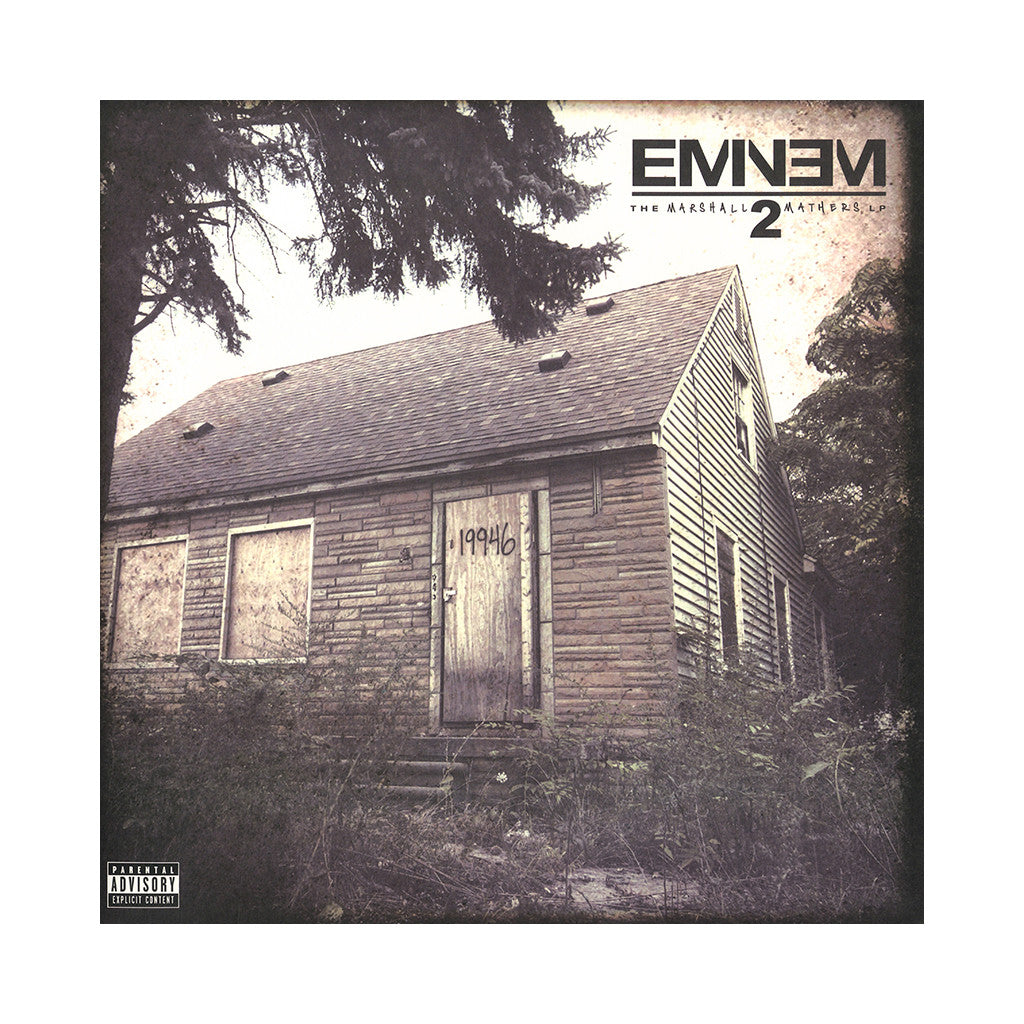 <!--120140121061576-->Eminem - 'The Marshall Mathers LP 2' [(Black) Vinyl [2LP]]