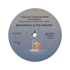 "Bob Marley & The Wailers - 'One Love (People Get Ready)/ Is This Love/ Buffalo Soldier' [(Black) 12"" Vinyl Single]"