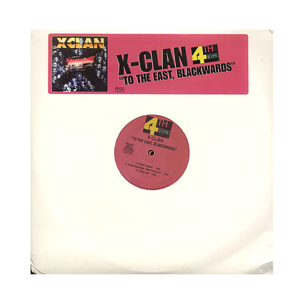 X-Clan - 'To The East, Blackwards' [(Black) Vinyl [2LP]]