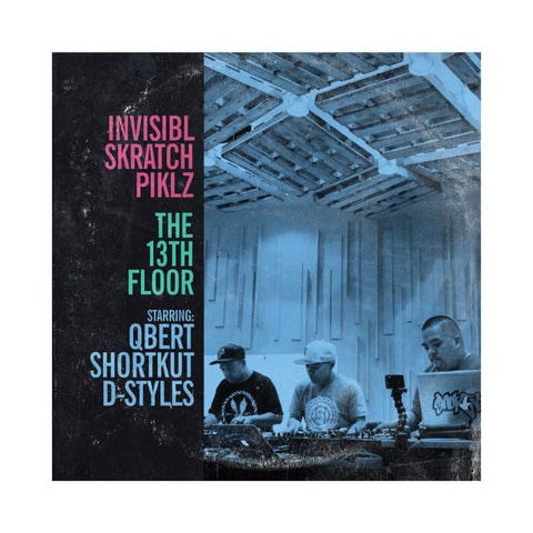 Invisibl Skratch Piklz - 'The 13th Floor' [(Black) Vinyl [2LP]]