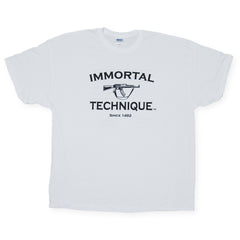 <!--2006062050-->Immortal Technique - 'Since 1492' [(White) T-Shirt]