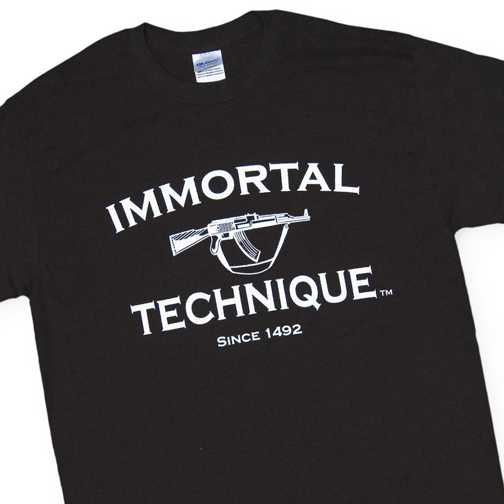 <!--2006062015-->Immortal Technique - 'Since 1492' [(Black) T-Shirt]