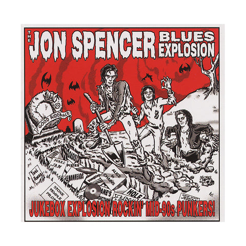 "[""The Jon Spencer Blues Explosion - 'Jukebox Explosion Rockin' Mid-90s Punkers!' [CD]""]"