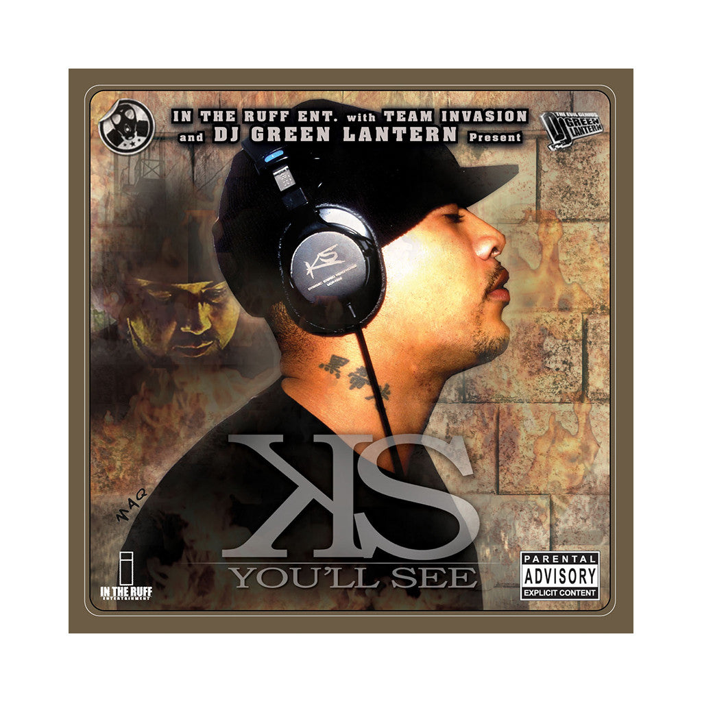 KS (aka KrumbSnatcha) (DJ Green Lantern Presents) - 'You'll See' [CD]