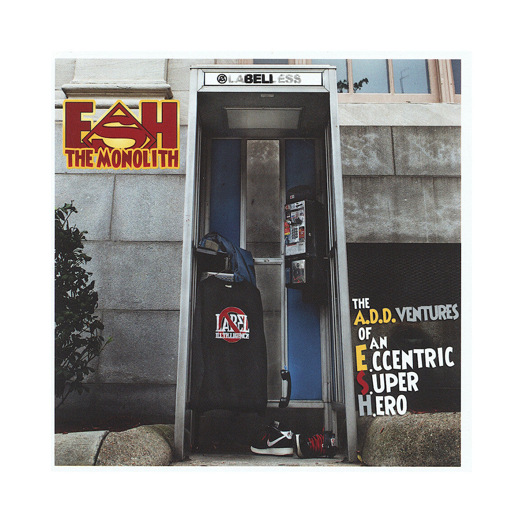 Esh The Monolith - 'The A.D.D.ventures Of An E.ccentric S.uper H.ero' [CD]