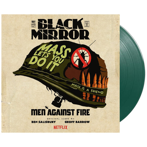 "[""Geoff Barrow & Ben Salisbury - 'Black Mirror: Men Against Fire (Original Score)' [(Army Green) Vinyl [2LP]]""]"