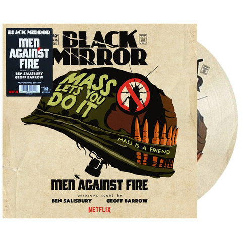 "[""Geoff Barrow & Ben Salisbury - 'Black Mirror: Men Against Fire (Original Score) (Picture Disc)' [(Picture Disc) Vinyl [2LP]]""]"