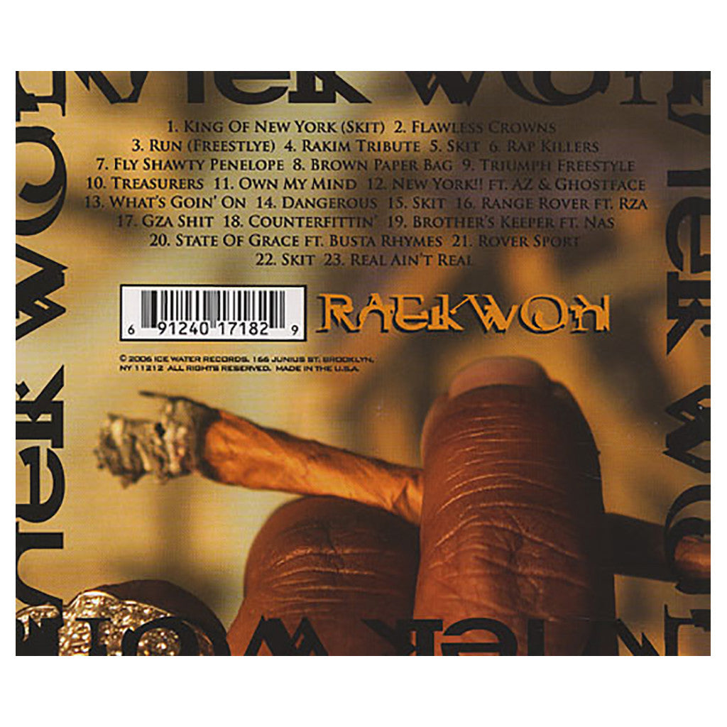 Raekwon - 'The Vatican Vol. 2: The DaVinci Code' [CD]
