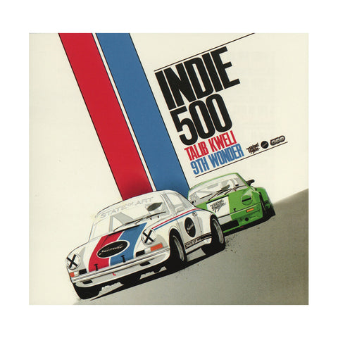 "[""Talib Kweli & 9th Wonder Present Indie 500 - 'Indie 500' [CD]""]"