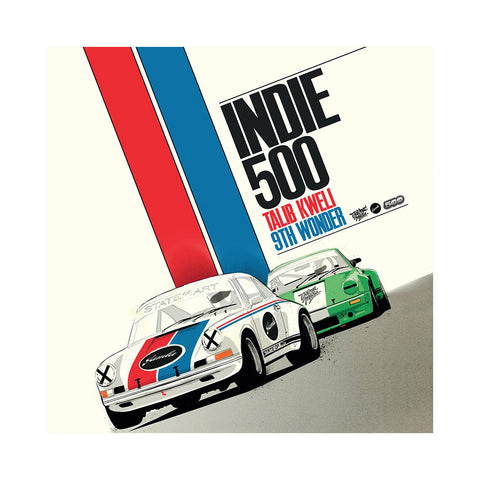 "[""Talib Kweli & 9th Wonder Present Indie 500 - 'Indie 500' [(Black) Vinyl [2LP]]""]"