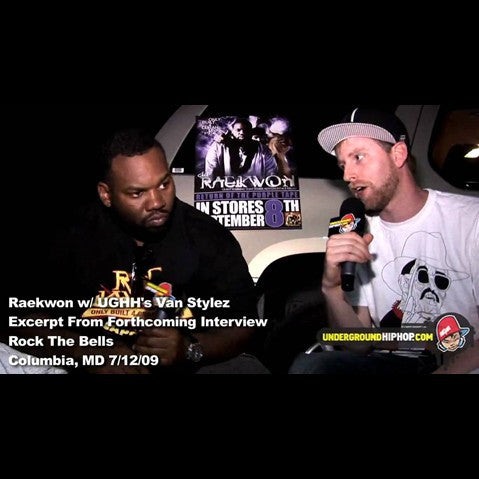 Inspectah Deck & Raekwon - 'Deck Curses Out Joe Budden On-Stage At Rock The Bells (Columbia, MD - 7/12/09)' [Video]
