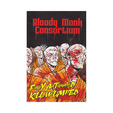 Bloody Monk Consortium - 'Fully Automated Kill Unlimited' [(Metallic Gold) Cassette Tape]