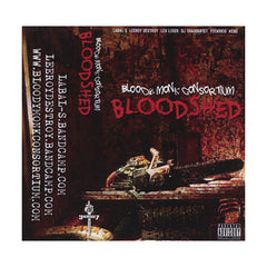 Bloody Monk Consortium - 'Bloodshed' [(Bood Red) Cassette Tape]