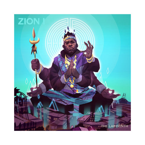 "[""Zion I - 'The Labyrinth' [(Black) Vinyl LP]""]"