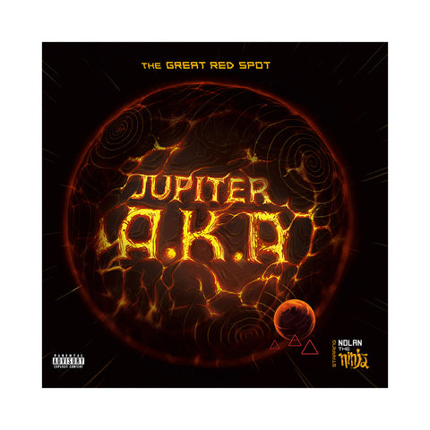 Jupiter A.K.A - 'The Great Red Spot' [CD]