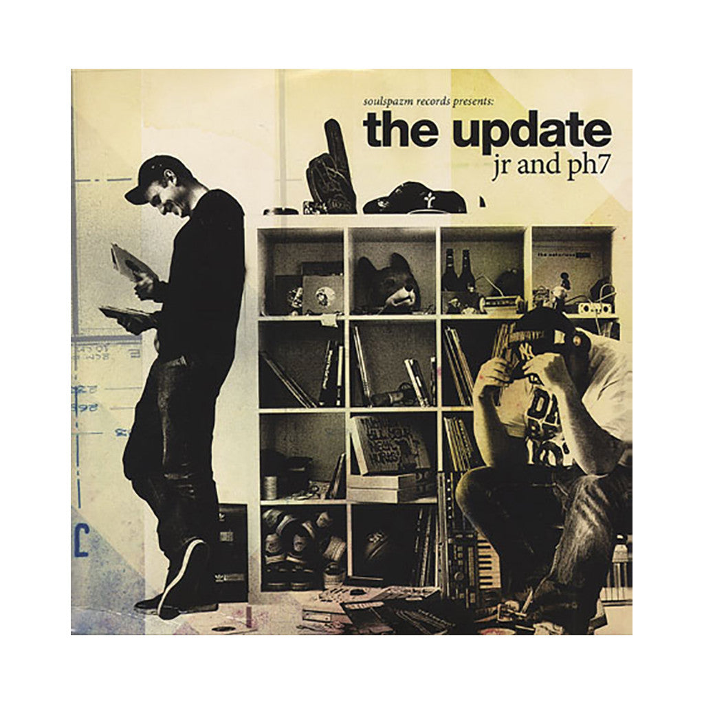 JR & PH7 - 'The Update' [(Black) Vinyl [2LP]]