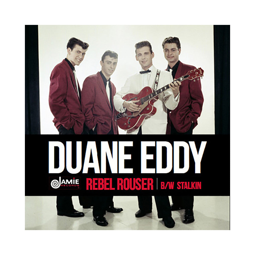 "<!--020140419062549-->Duane Eddy - 'Rebel Rouser/ Stalkin' [(Black) 7"" Vinyl Single]"