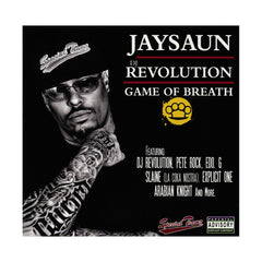 Jaysaun & DJ Revolution - 'Game Of Breath' [CD]