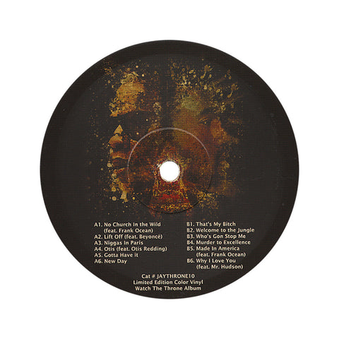 Jay-Z & Kanye West - 'Watch The Throne (CLEAN VERSION)' [(Mystery) Vinyl LP]