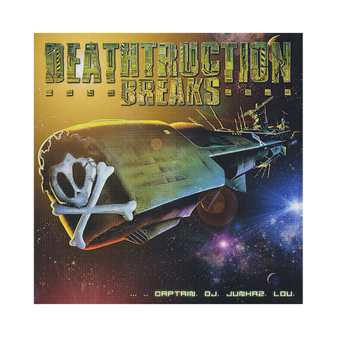 DJ Junkaz Lou - 'Deathtruction Breaks' [(Yellow) Vinyl LP]