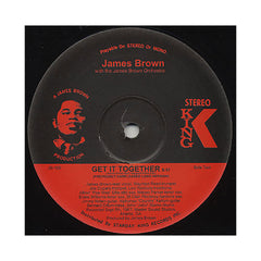 "<!--019000101016735-->James Brown & The James Brown Orchestra - 'Can I Get Some Help/ Get It Together (Previously Unreleased Long Versions)' [(Black) 12"" Vinyl Single]"