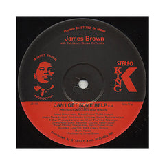 "James Brown & The James Brown Orchestra - 'Can I Get Some Help/ Get It Together (Previously Unreleased Long Versions)' [(Black) 12"" Vinyl Single]"