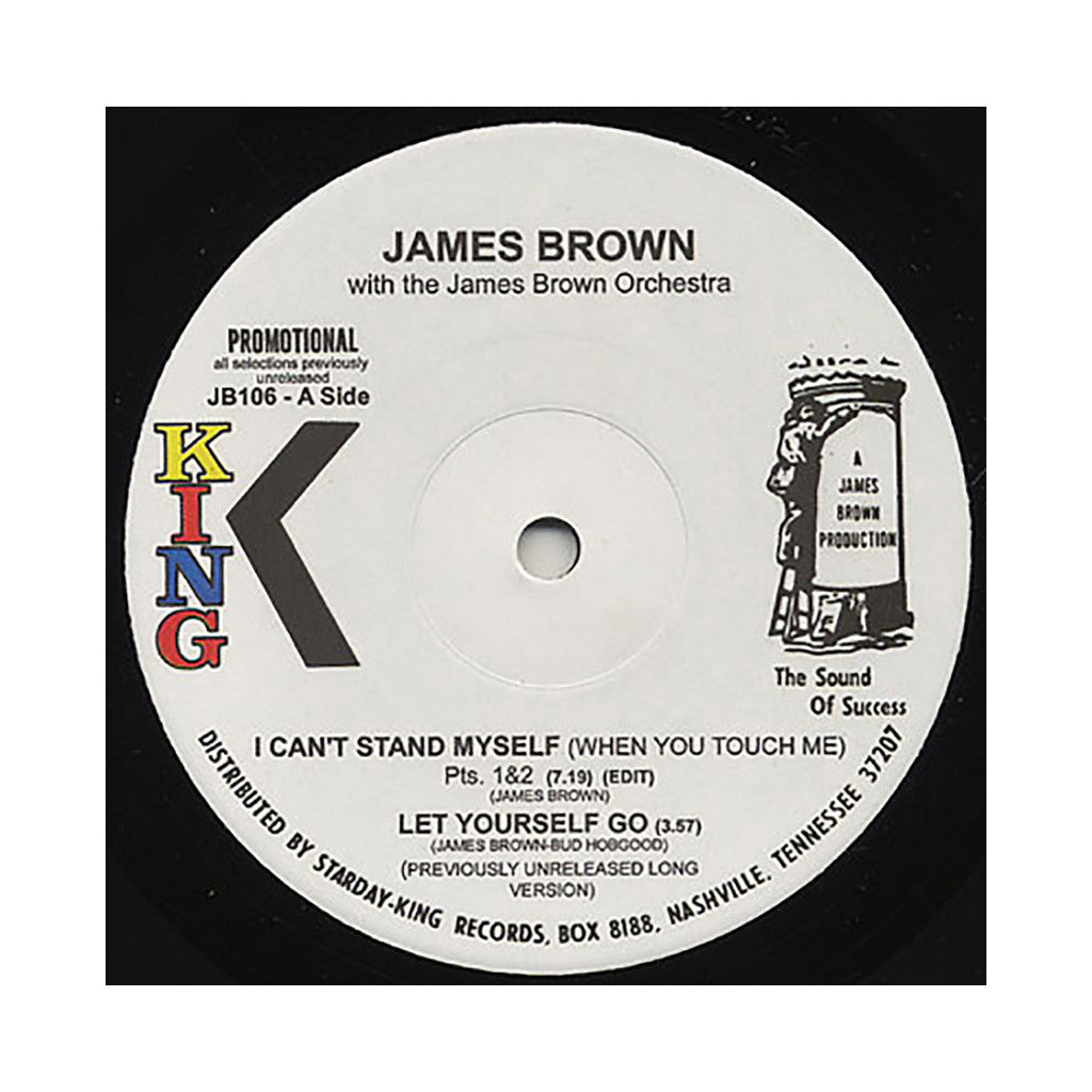 "<!--019000101016734-->James Brown & The James Brown Orchestra - 'I Can't Stand Myself/ Let Yourself Go/ Papa's Got A Brand New Bag Pts. 1, 2, 3/ Bring It Up' [(Black) 12"" Vinyl Single]"